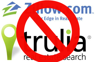 No zillow or trulia